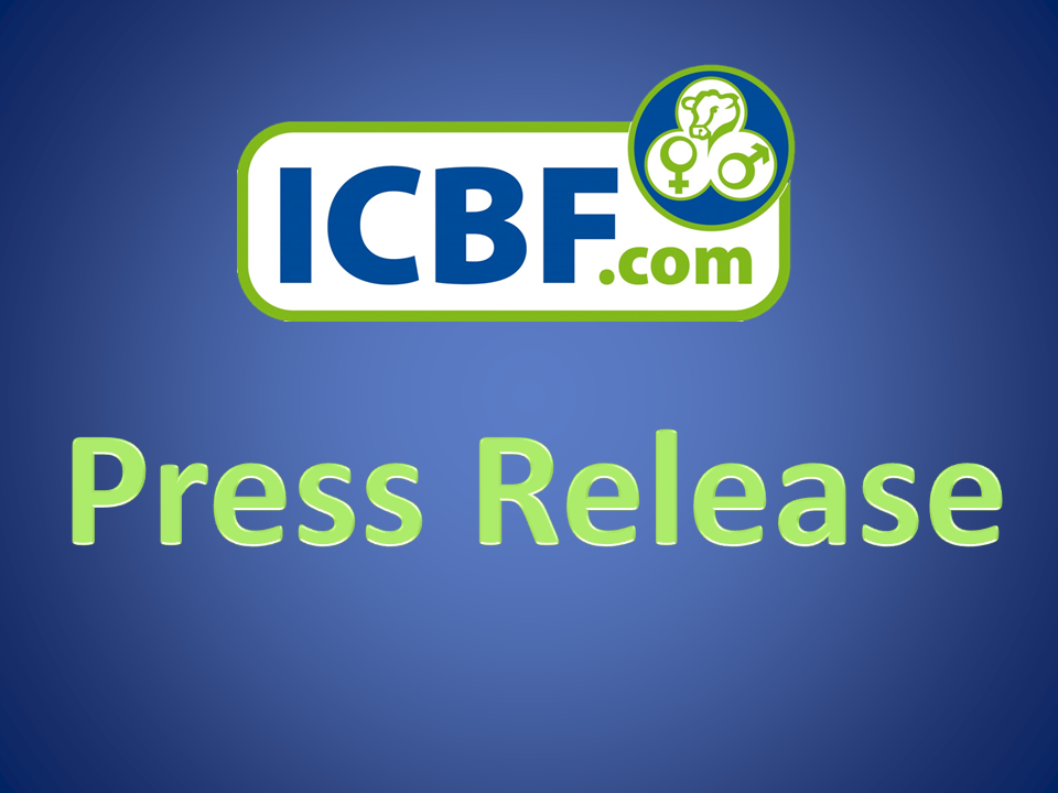 Press Release – ICBF brings forward its Dairy AI Bull Evaluation