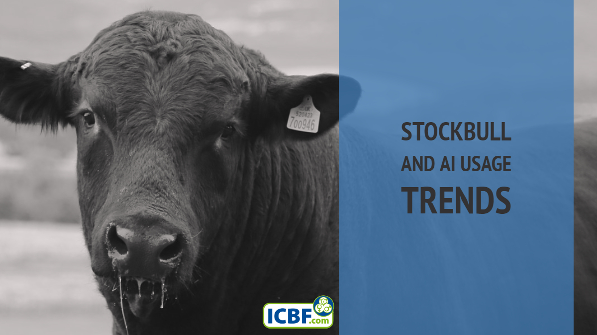Beef Pedigree Stockbull and AI Usage Trends 2018
